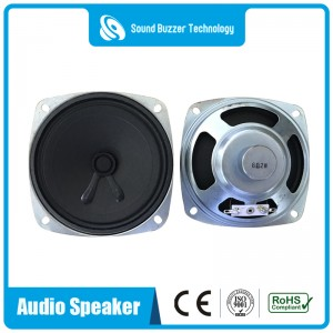 Square type 92mm*92mm good sound audio speakers