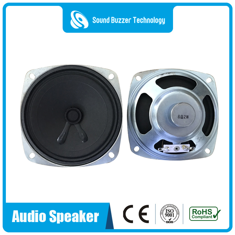 China Cheap price Bluetooth Speaker With Led Lamp - Square type 92mm*92mm good sound audio speakers – Sound Buzzer Technology
