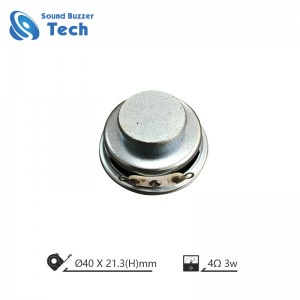 Free sample raw speaker driver 40mm 8ohm 2w spaeker