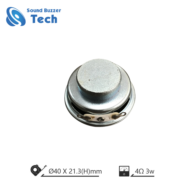 Free sample raw speaker driver 40mm 8ohm 2w spaeker Featured Image