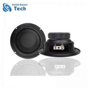 Best Price 5.5 inch car audio speakers 6 ohm 30w loudspeaker unit