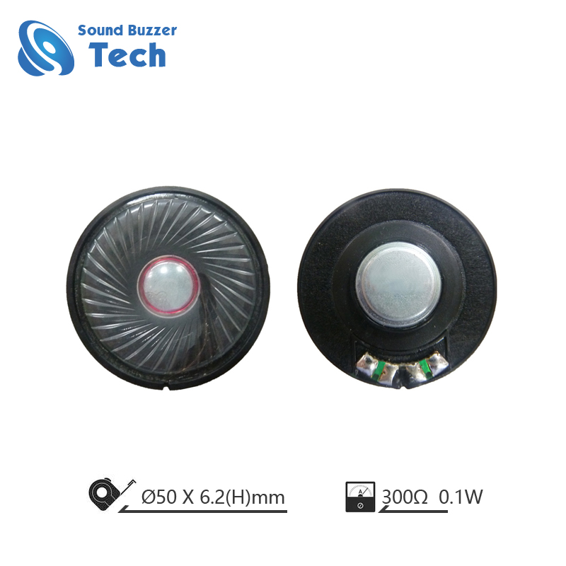 High end 50mm headphone driver 300 ohm waterproof membrane speakers Featured Image