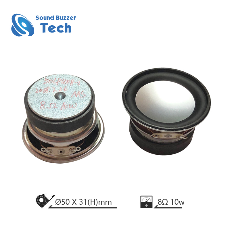 Best sound quality 2 inch speaker parts 50mm 8ohm 10w speaker Featured Image