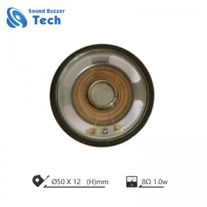 Best sound audio speaker driver 2 inch 50mm 8 ohm 1w waterproof speaker