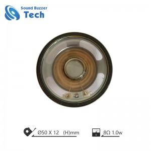 Best sound audio speaker driver 2 inch 50mm 8 ohm 1w waterproof speaker