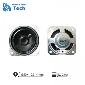 Top sales 2″ raw speaker driver 50mm 32ohm 0.5w waterproof speaker for intercom