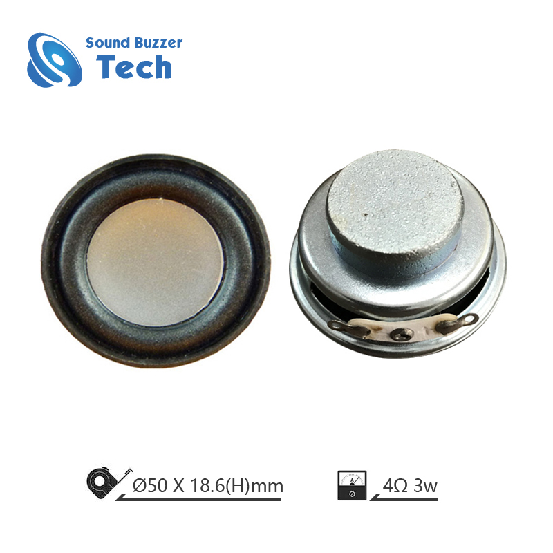 ROHS Compliant small loudspeakers 50mm 8ohm Speaker Featured Image