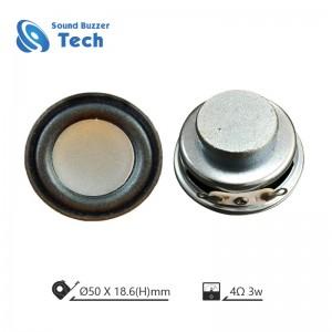 High sound quality Mini speaker driver 2 inch 4 ohm 3w speakers