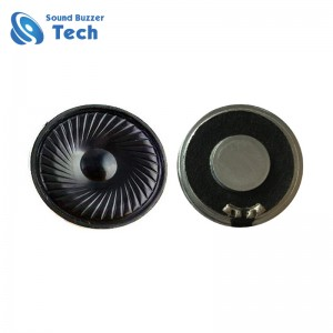 Professional mylar speaker supplier 50mm 8 ohm speakers 2 watt