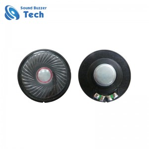 Good sound mylar speaker with Iron frame 50mm 300ohm 0.1w loudspeaker
