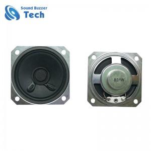 Best 2 inch Micro Speaker Acoustic 50x50mm paper cone 8 ohm 1w loud speaker