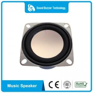 New design speaker parts 2 Inch 10w Square Speakers