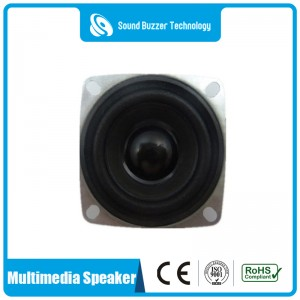 New type loudspeaker unit 4ohm 3w 2 inch speaker
