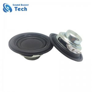 Full range amplifier speaker with passive membrane 53mm 5w 4ohm speaker