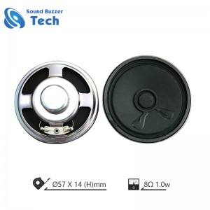 Good Sound Music speaker 57mm 8ohm speaker parts