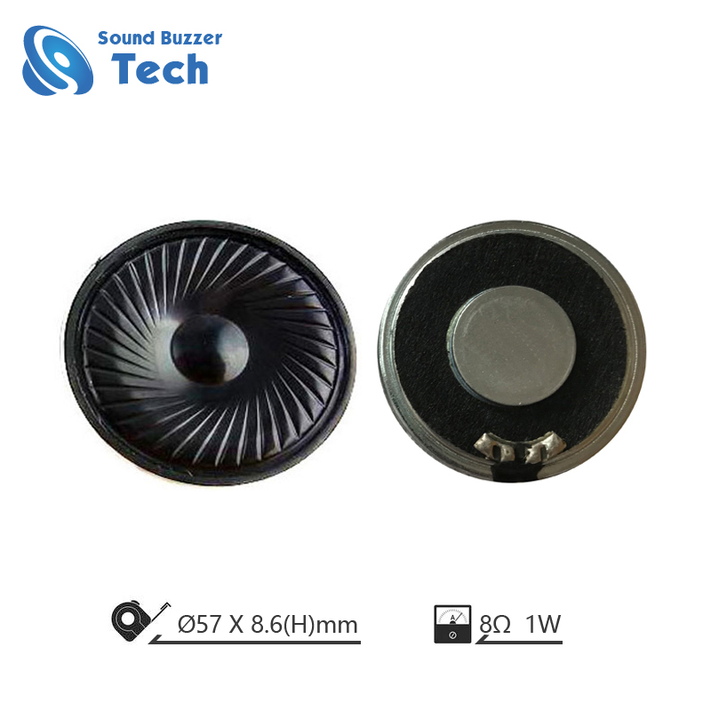Best raw speaker drivers Widely use in making sound 57mm 8ohm mylar speaker Featured Image