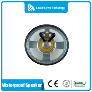 3 inch loudspeaker unit  8 ohm 2w waterproof speaker