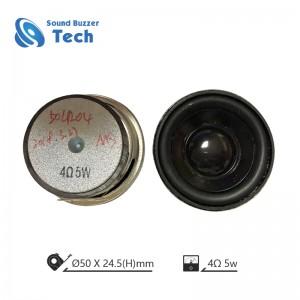 Best loudspeakers unit 4ohm 5w 50mm speaker driver