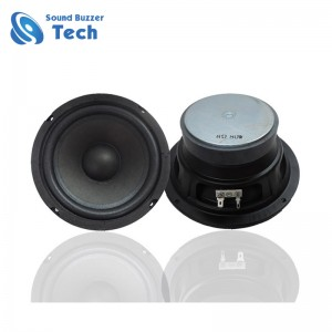 Good sound midrange car speaker 6.5 inch subwoofer speaker 8 ohm 30w