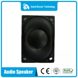 Good sound 8ohm 2w School bag loudspeaker