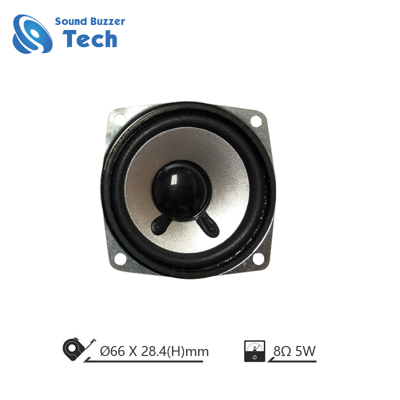 2019 full range speaker driver with big magnet 66mm 8 ohm 5w loudspeaker Featured Image