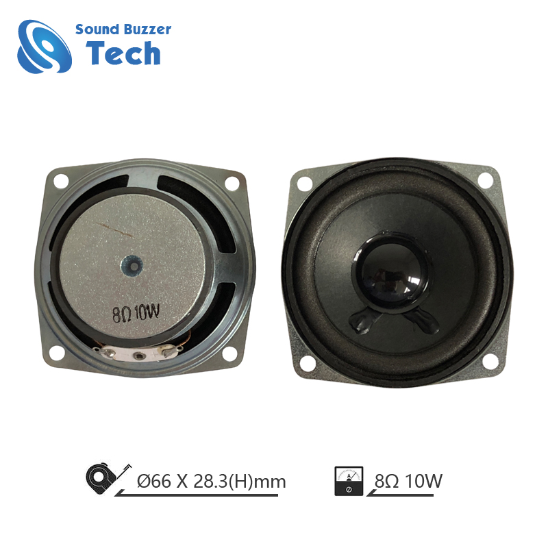 New Design 66MM 8ohm 10W Small round Speaker Featured Image