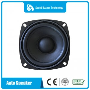 4 inch big sound speaker 4ohm 20w with magnetic shield