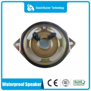 2 inch waterproof speaker 8ohm 2w with mounting holes