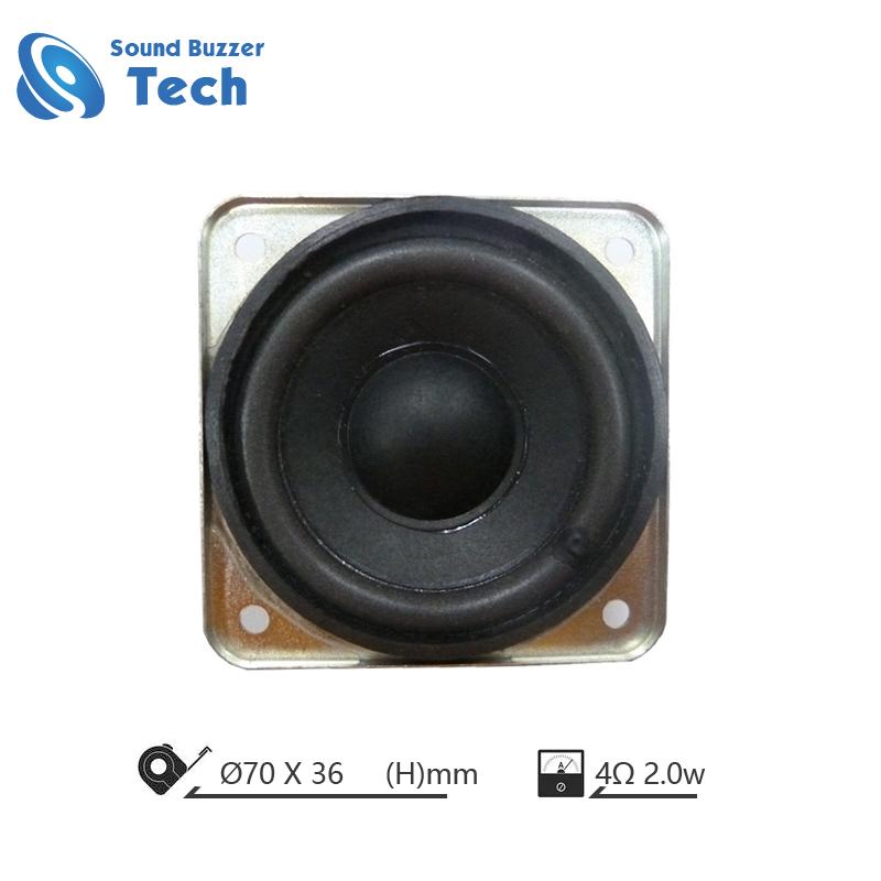 Full range loudspeaker for Multimedia speaker 2.5 inch speaker 4 ohm 2 watts Featured Image
