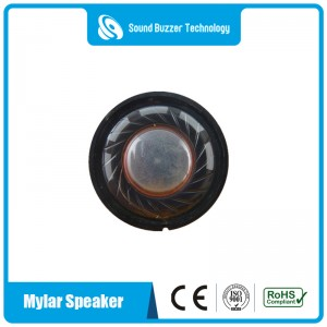 Hot Sale waterproof speaker 27MM  8ohm mylar speaker