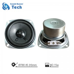 Full range speaker driver 3 inch 8 ohm 15 watt for high-end blue tooth sound box