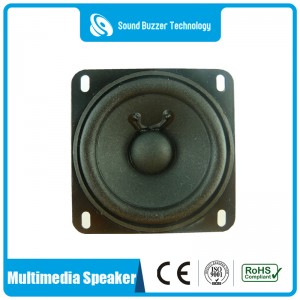 3 inch square speaker unit 4ohm 6 watt sound speaker