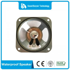 Clear sound 4″speaker components 8ohm 10w waterproof speaker