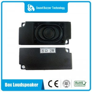 Good sound Speaker box 8ohm 2w with plastic housing