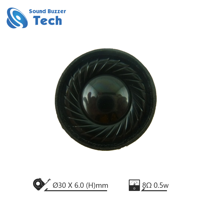 Free sample mylar speaker 30mm 8ohm 1w mini speaker Featured Image
