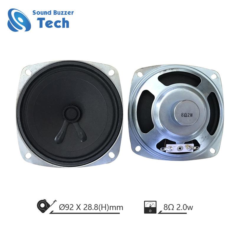 Best speakers and loudspeaker 92x92mm quare speaker 8ohm 3w Featured Image