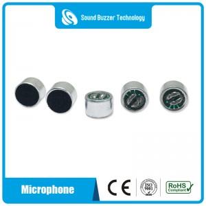 9.7*6.7mm Electret Condenser Microphone unit