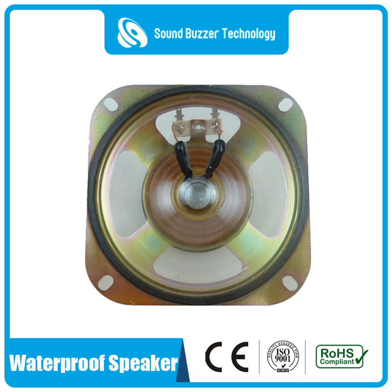 Fixed Competitive Price Mini Speaker Driver Unit - 4 inch waterproof speaker 8ohm 5w with mounting holes – Sound Buzzer Technology Featured Image
