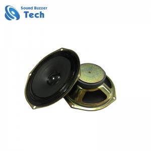 Full range 6.5 inch subwoofer speaker 156mm 4 ohm 15w multimedia speaker