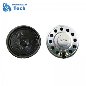 Good Price 50MM 32 Ohm 0.5 watt High Quality Small Headphone Speaker