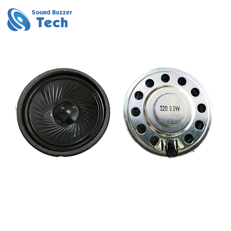 Good Price 50MM 32 Ohm 0.5 watt High Quality Small Headphone Speaker Featured Image