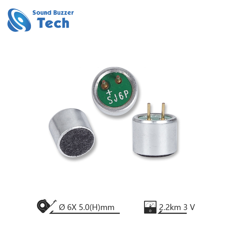 6 mm Unidirectional Electret Condenser Microphone Units for Headphone Featured Image