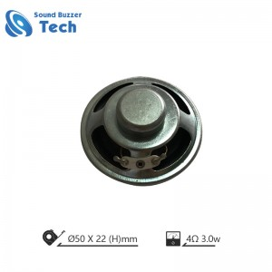 Factory best selling loudspeaker unit 50mm 4 ohm 5 watts mini speaker