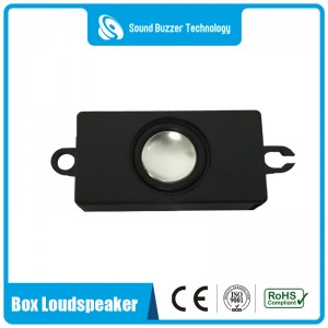 Good sound quality speaker with housing 4ohm 3w box speaker