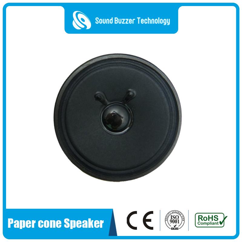 Full range paper cone speaker 3 inch 4ohm loudspeaker Featured Image