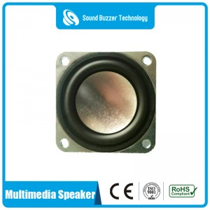 Hot sale speaker unit 40mm 4 ohm 2 watt loudspeaker