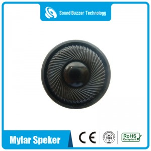 Warm verkope mikro speaker 36mm 50ohm Mylar spreker