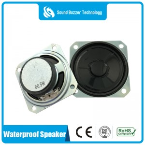 2 inch waterproof speaker 8ohm 5w loudspeaker
