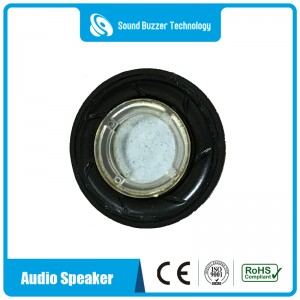 Excellent sound quality 28mm speaker with plactic housing