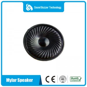 Mylar cone loudspeaker 50mm 8ohm speaker with ROHS CE